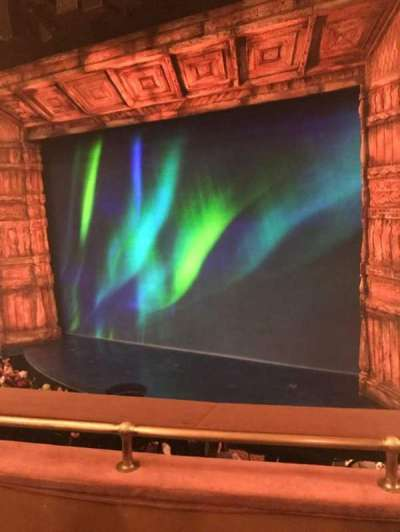 St. James Theatre, sección: Mezzanine, fila: C, asiento: 16