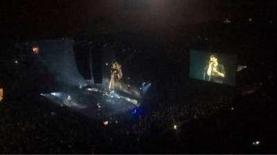 Madison Square Garden, sección: 210, fila: 19, asiento: 3
