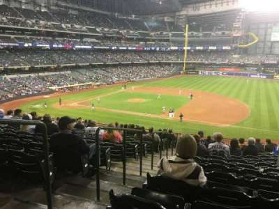 Miller Park, sección: 211, fila: 18, asiento: 2