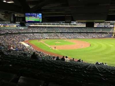Miller Park, sección: 207, fila: SRO, asiento: SRO
