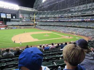 Miller Park, sección: 225, fila: 13, asiento: 14