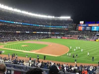 Yankee Stadium, sección: 214A, fila: 3, asiento: 7