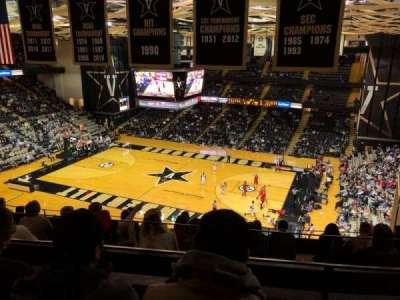 Memorial Gymnasium (Vanderbilt), sección: 3G, fila: 10, asiento: 6