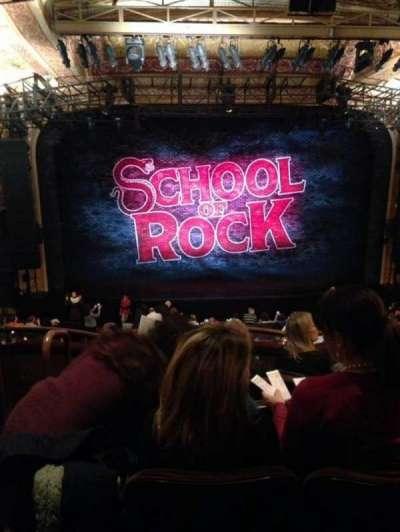 Winter Garden Theatre, sección: Mezz, fila: E, asiento: 102