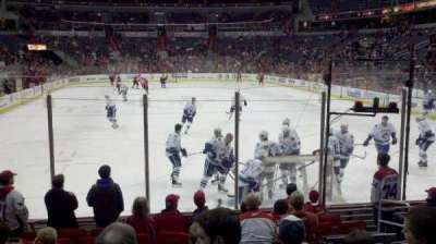 Capital One Arena, sección: 105, fila: K, asiento: 6