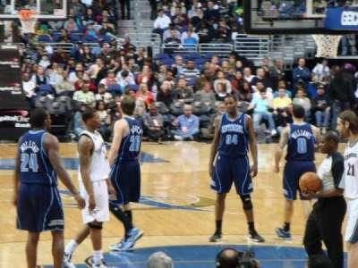 Capital One Arena, sección: 105, fila: E, asiento: 2