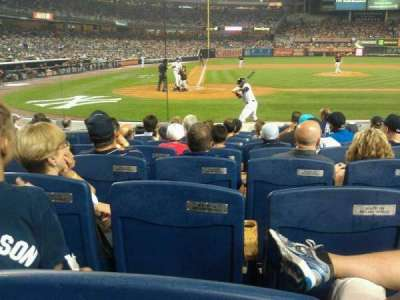 Yankee Stadium sección 017B