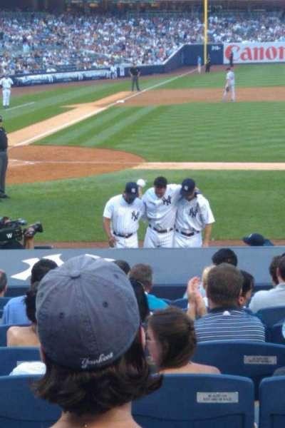 Yankee Stadium sección 114