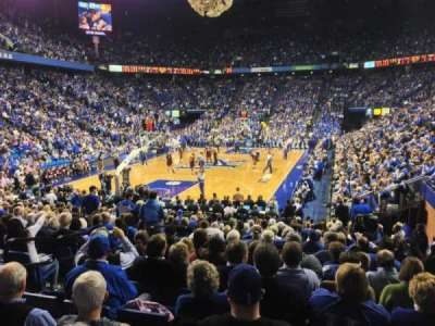 Rupp Arena, sección: 21, fila: UU, asiento: 2