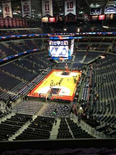 Capital One Arena, sección: 427, fila: G, asiento: 1