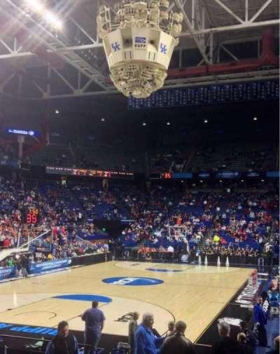 Rupp Arena, sección: 38, fila: MM, asiento: 3