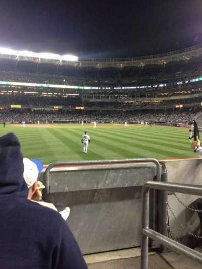Yankee Stadium sección 136