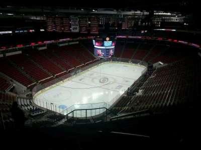 PNC Arena, sección: 311, fila: J, asiento: 1