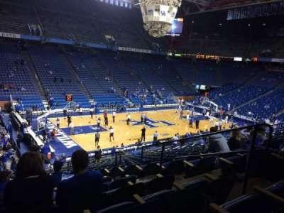 Rupp Arena, sección: 34, fila: U, asiento: 5
