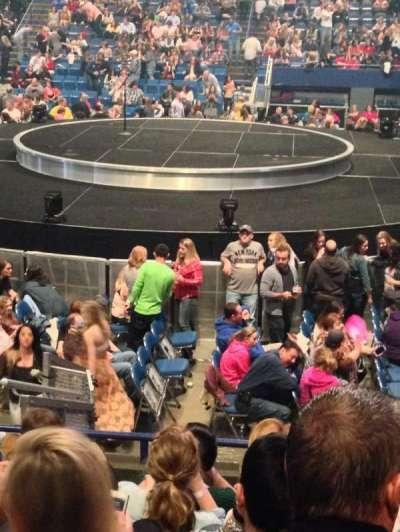 Rupp Arena, sección: 13, fila: F, asiento: 11