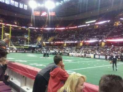 Quicken Loans Arena, sección: 110, fila: 2, asiento: 14