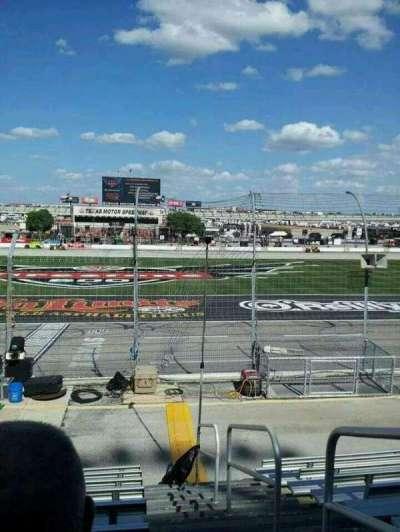 Texas Motor Speedway, sección: 101, fila: 9, asiento: 20
