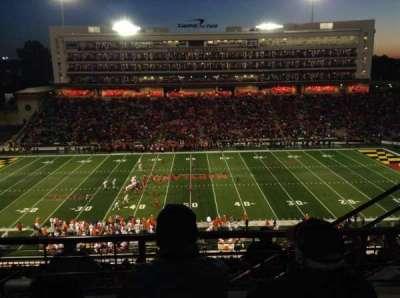 Maryland Stadium, sección: 206, fila: M