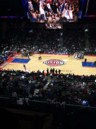 The Palace of Auburn Hills, sección: 230, fila: 2, asiento: 9