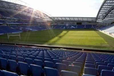 American Express Community Stadium, sección: S1C, fila: P
