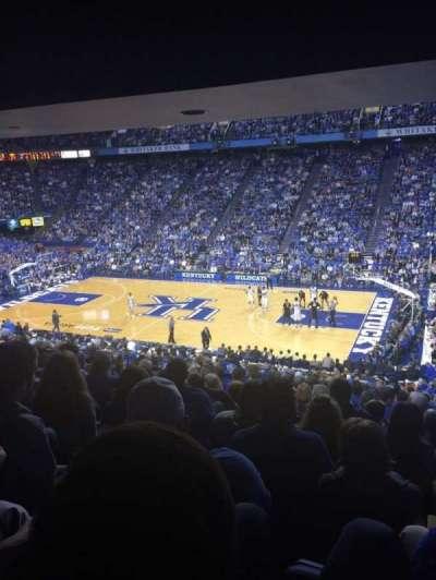 Rupp Arena, sección: 29, fila: Y, asiento: 4