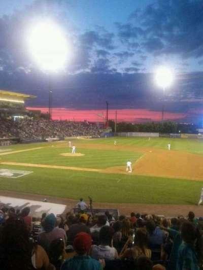 Richmond County Bank Ballpark, sección: 13, fila: T, asiento: 8