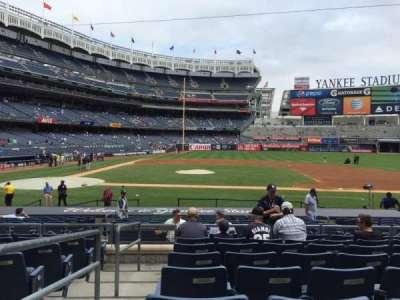 Yankee Stadium sección 116