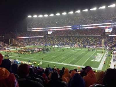 Gillette Stadium, sección: 227, fila: 21