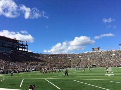Notre Dame Stadium, sección: FL17, fila: E, asiento: 3