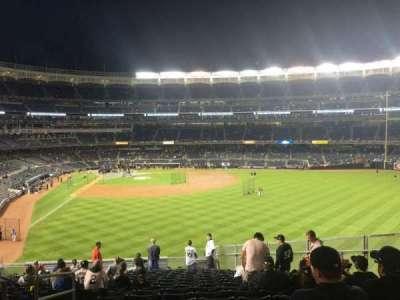 Yankee Stadium sección 205