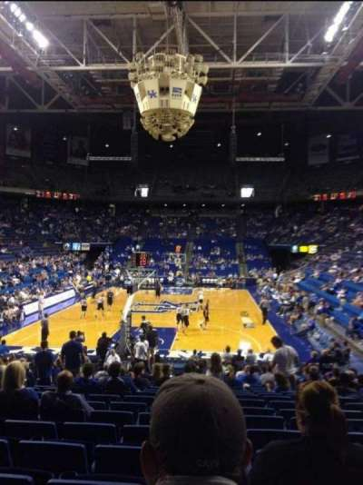 Rupp Arena, sección: 22, fila: VV, asiento: 6