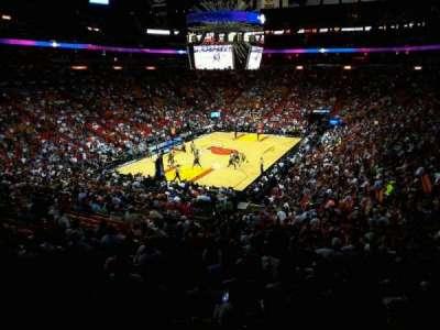 American Airlines Arena, sección: 123, fila: 33, asiento: 10