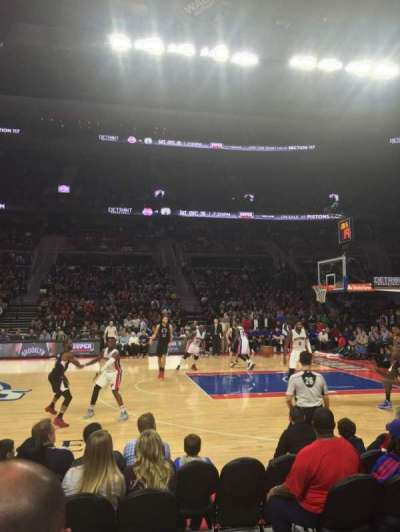 The Palace of Auburn Hills, sección: 126, fila: BB, asiento: 12