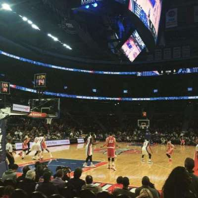 The Palace of Auburn Hills, sección: 107A, fila: AAA, asiento: 1