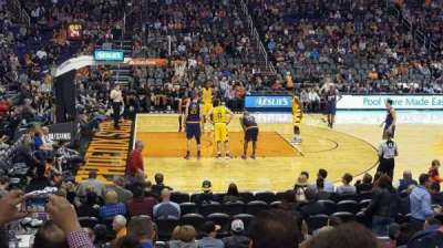 Talking Stick Resort Arena , sección: 115, fila: 12, asiento: 15