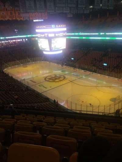 TD Garden, sección: Bal 312, fila: 8, asiento: 4 and 5
