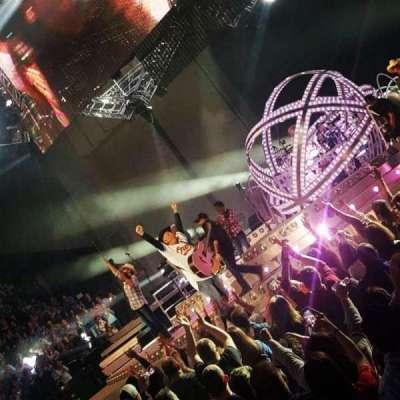 Royal Farms Arena, sección: 106, fila: BB, asiento: 14, 15
