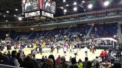 Ricoh Coliseum, sección: 109, fila: B, asiento: 1