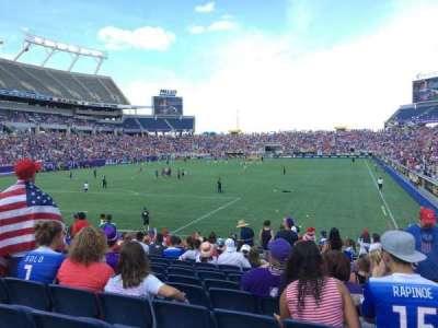 Camping World Stadium, sección: 120, fila: 15, asiento: 17