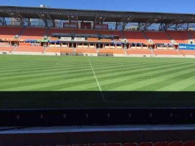 BBVA Compass Stadium, sección: 126, fila: F, asiento: 15