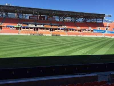 BBVA Compass Stadium, sección: 127, fila: F, asiento: 15