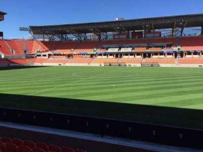 BBVA Compass Stadium, sección: 125, fila: F, asiento: 15