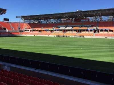 BBVA Compass Stadium, sección: 124, fila: F, asiento: 15