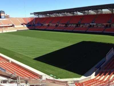 BBVA Compass Stadium, sección: 201, fila: J, asiento: 11