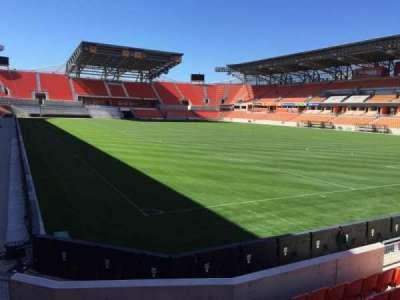BBVA Compass Stadium, sección: 118, fila: F, asiento: 12