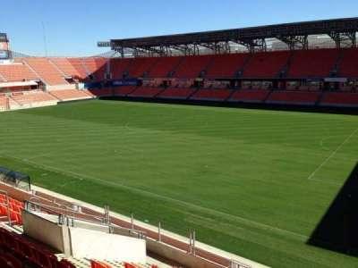 BBVA Compass Stadium, sección: 203, fila: J, asiento: 15
