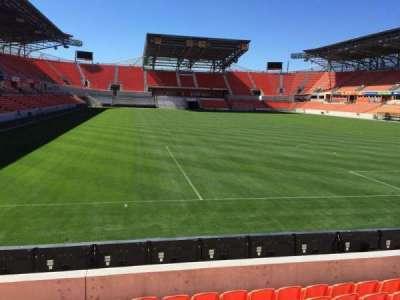 BBVA Compass Stadium, sección: 117, fila: F, asiento: 15