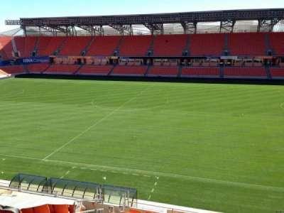 BBVA Compass Stadium, sección: 205, fila: D, asiento: 11