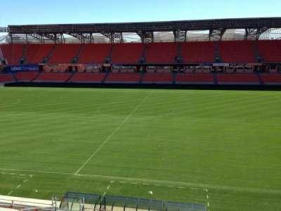 BBVA Compass Stadium, sección: 206A, fila: D, asiento: 10