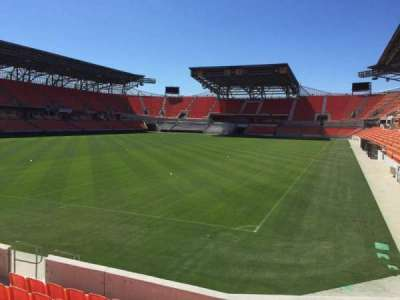 BBVA Compass Stadium, sección: 113, fila: F, asiento: 13